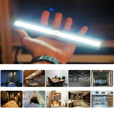New 1x 10-LED Bulbs Wireless PIR Motion Sensor Night Light Cabinet Closet Lamp