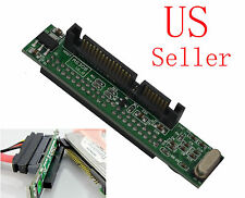 """44pin 2.5"""" IDE HDD Drive Female to 7+15pin Male SATA Adapter"""