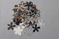 Stampin' Up! Neutrals Collection BUILD A FLOWER Die Cut Flower Kit 50 Piece