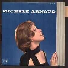 MICHELE ARNAUD Rare 25CM 1962 GAINSBOURG / MOUSTAKI / FERRAT Neuf + Languette
