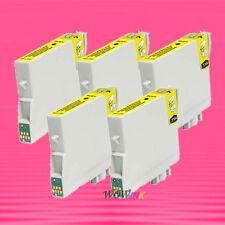 5P NON-OEM YELLOW INK alternative for EPSON T044420 T0444 Stylus CX6400 CX6600