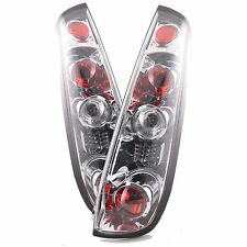 FORD FIESTA MK6 3 DOOR HATCH 2002-2005 CHROME LEXUS REAR TAIL LIGHTS LAMPS PAIR