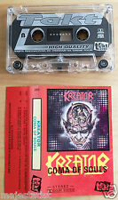 KREATOR - Coma of souls MC RARE 1'ST POLISH PRESS 1990