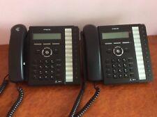 Lot of 2 LG IPECS Lip-8012e Gigabit IP Phone with stand