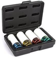 Titan 21095 Non-Marring Lug Nut Socket Set 1/2 Inch Drive - Pack of 4