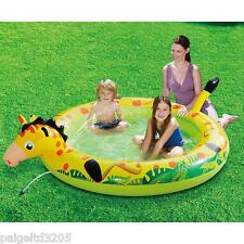 Clearwater Splash Play Pool - Giraffe 80x61x22 inches