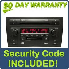 06-08 AUDI A4 Symphony II Radio Stereo 6 Disc Changer CD Tape Player 8E0035195H
