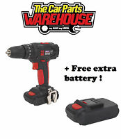 Sealey CP18VLD Cordless 18V Li-ion Hammer Drill with REPLACEMENT BATTERY !