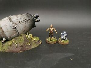 star wars legion crashed escape pod pro painted made to order