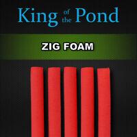 Zig foam sticks 6mm red foam qty 5 - carp fishing, zig rig, carp rigs