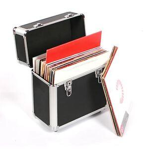 Studio X dj 12 inch vinyl record collection flight storage case box holds 50