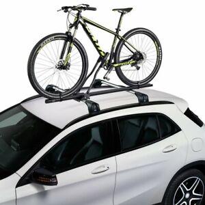 2 x Steel Cycle Carrier Roof Mounted Bike Bicycle Car Rack Holder Lockable
