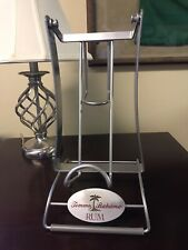 Tommy Bahama Display Rum Cradle Sign Stainless Chrome Look Retail Store