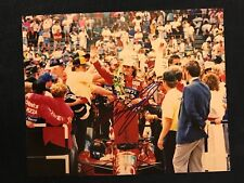 Arie Luyendyk Signed Indy 500 Winner Indianapolis 1990 8 X 10 Photo