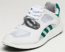 UK SIZE 10 - adidas ORIGINALS EQUIPMENT RACING 91 TRAINERS - WHITE