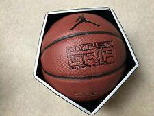"Nike Jordan Hyper Grip 4P Basketball Game Ball Outdoor Size 7 / 29.5"" Bb0622-858"