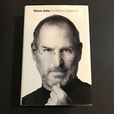 Walter Isaacson Signed Autographed Book Steve Jobs Hardcover Apple JSA