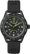 TIMEX T2P024 Herrenuhr Kaleidoscope Men's Sport - Silikonband - Tachymeter