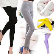 Femmes Pantalons Leggings Stretch Nine-Points élastique couleurs de bonbons