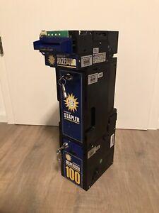 TOP! ADP Gauselmann: MD100 Dispenser-Staplerkasse-EBA34 Aktzeptor KOMPLETT
