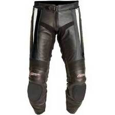 Pantaloni da donna bianchi per motociclista