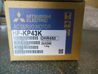 fast ship MITSUBISHI SERVO MOTOR HF-KP43K FREE EXPEDITED SHIPPING HFKP43K NEW