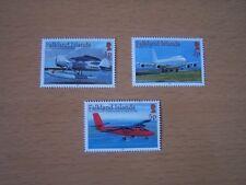 FALKLAND ISLANDS,2008,AIRCRAFT,3 VALS,U/M .EXCELLENT.