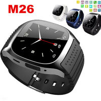 Waterproof Bluetooth Mate Wrist Smart Watch For Android HTC Samsung iPhone iOS