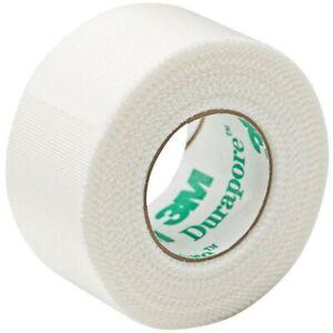 """3M Durapore""""Silk Micropore""""Medical Skin Tape 5cm x 9.1m x 1 Roll Eyelash"""