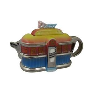 American Diner Teapot Ceramic Inspirations Birthday and Christmas Gifts