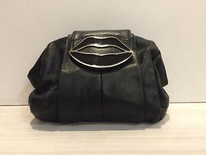 Yves Saint Laurent Clutch Waist Bag Belt Bag Tom Ford Lips YSL Purse Leather