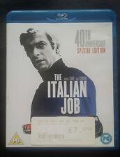 Blu ray region b cult classic the italian job 40th anniversary ed movie film