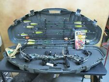PSE DREAM SEASON PRO SERIES X-FORCE 7 HUNTING BOW IN CASE + 15 ARROWS & MORE