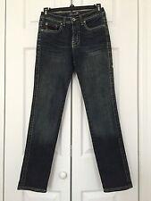Seven 7 For All Mankind  Embellished pockets  Girl's Jeans Size 12 Dark Blue