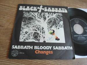 "Black Sabbath 7 "" 45 Sabbath Bloody Sabbath Orig Italy 1973 NM Top"