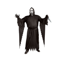 NEW Officially Licensed Scream/Ghost Face (Plus Size) Costume Halloween Horror