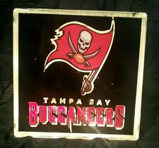 Lighted Tampa Bay Buccaneers Glass Block Light~ Home Decor~Gift~Lamp
