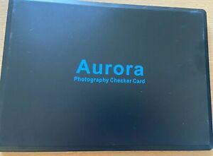 Aurora 24color checker card