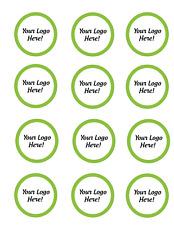 Vinyl Stickers - Round 2 inch diameter / 3 mils / glossy / sheets