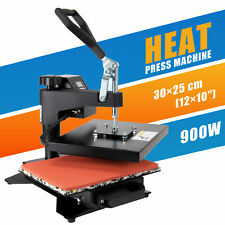 12x10 Digital Heat Press Machine Sublimation Transfer For T Shirt Printer
