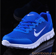 MENS AND BOYS SPORTS TRAINERS RUNNING GYM SIZES UK5.5-11.5 FASHION SHOES