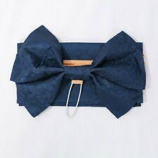 Lady Kimono Belts Yukata Obi Waistband Bow Japanese Brocade Wide Cinch Sash Cute