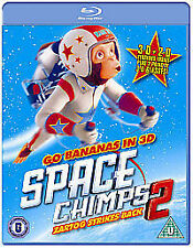 Space Chimps 2 - Zartog Strikes Back 2 Disc 3D &  2D Bluray New and Sealed