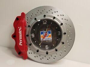Permatex Brake Rotor & Caliper Promotion Wall Clock Shop Home Office