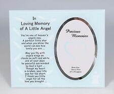 Blue Boy In Loving Memory of a Little Angel Photo Frame Memorial Gift