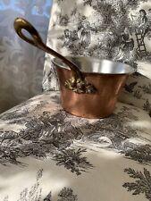 Ruffoni Historia Copper/Brass Acorn Handle Polenta Pan—originally $225!
