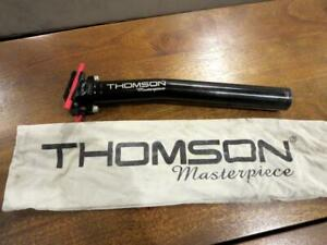 Thomson Masterpiece Black Seatpost 31.6mm Road Mountain Track Cyclocross Record