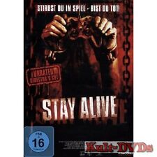 Stay Alive - Unrated Director's Cut (DVD) Jon Foster, Samaire Armstrong*Neu+OVP*