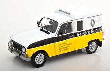 1:18 Solido Renault 4LF4 Service Renault 1975 yellow/white/black