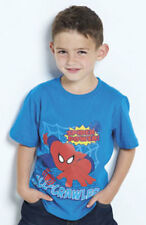 Spiderman Wall Crawler Blue Top T-Shirt age18-24 month Official licenced product